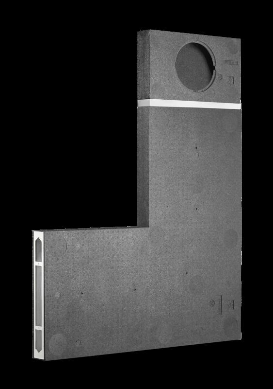 LUNOtherm-S Ventilācijas reste ēkas logu ailēs