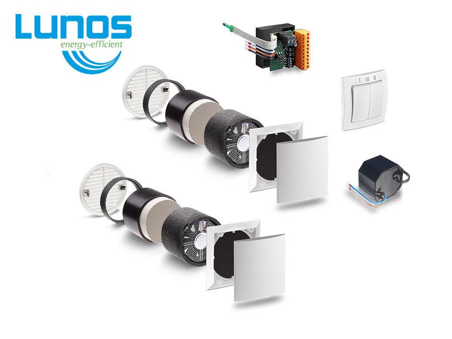 LUNOS e2 Rekuperācijas sistēma