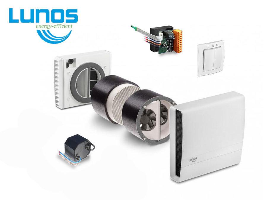 LUNOS eGO rekuperācijas sistēma